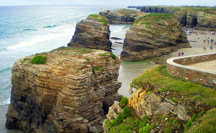 Top 8 hidden summer destinations in Spain: Playa de las Catedrales, Lugo