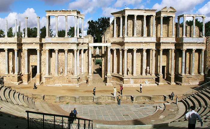 Top 8 hidden summer destinations in Spain: The Amphitheatre of Mérida