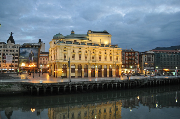 Arriaga Theatre, Bilbao Spain
