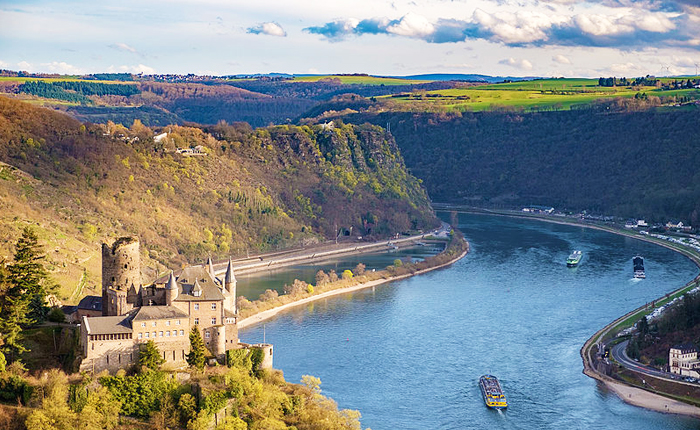 Top 10 Germany: Upper Middle Rhine Valley