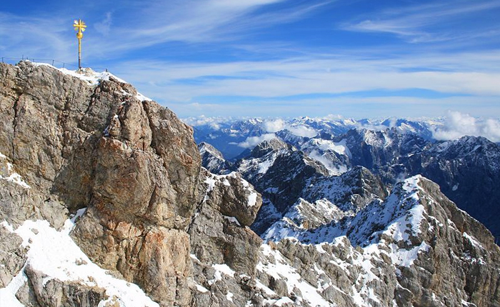 Places to see in Germany: Zugspitze