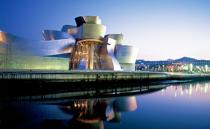 Top 10 places to visit in Spain: Guggenheim in Bilbao