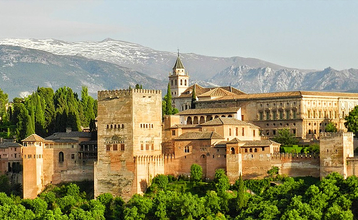 Top 10 places to visit in Spain: Alhambra