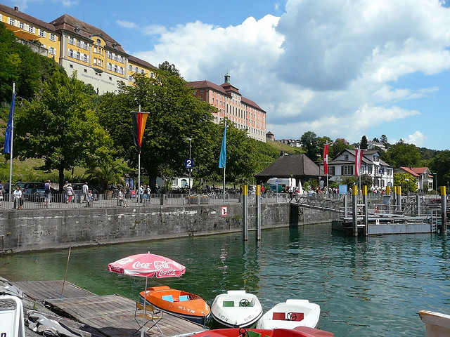 Best German tourist attractions: Meersburg