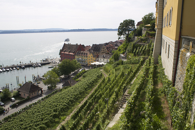 Small towns in Germany – a small town in Germany, Meersburg