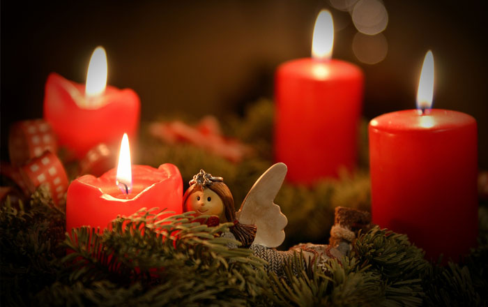 Christmas traditions in Switzerland: Adventskranz