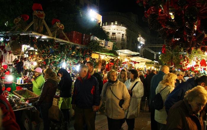 Spanish Christmas markets: Fira de Santa Llúcia