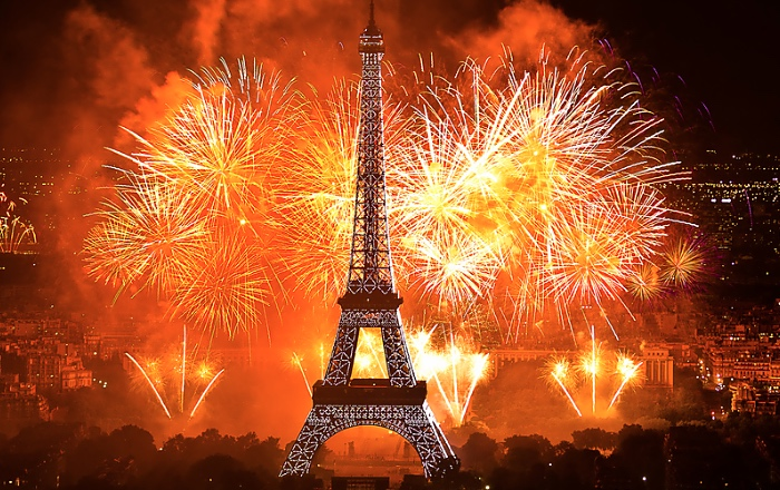Bastille Day is one of biggest French holidays celebrated around the country.