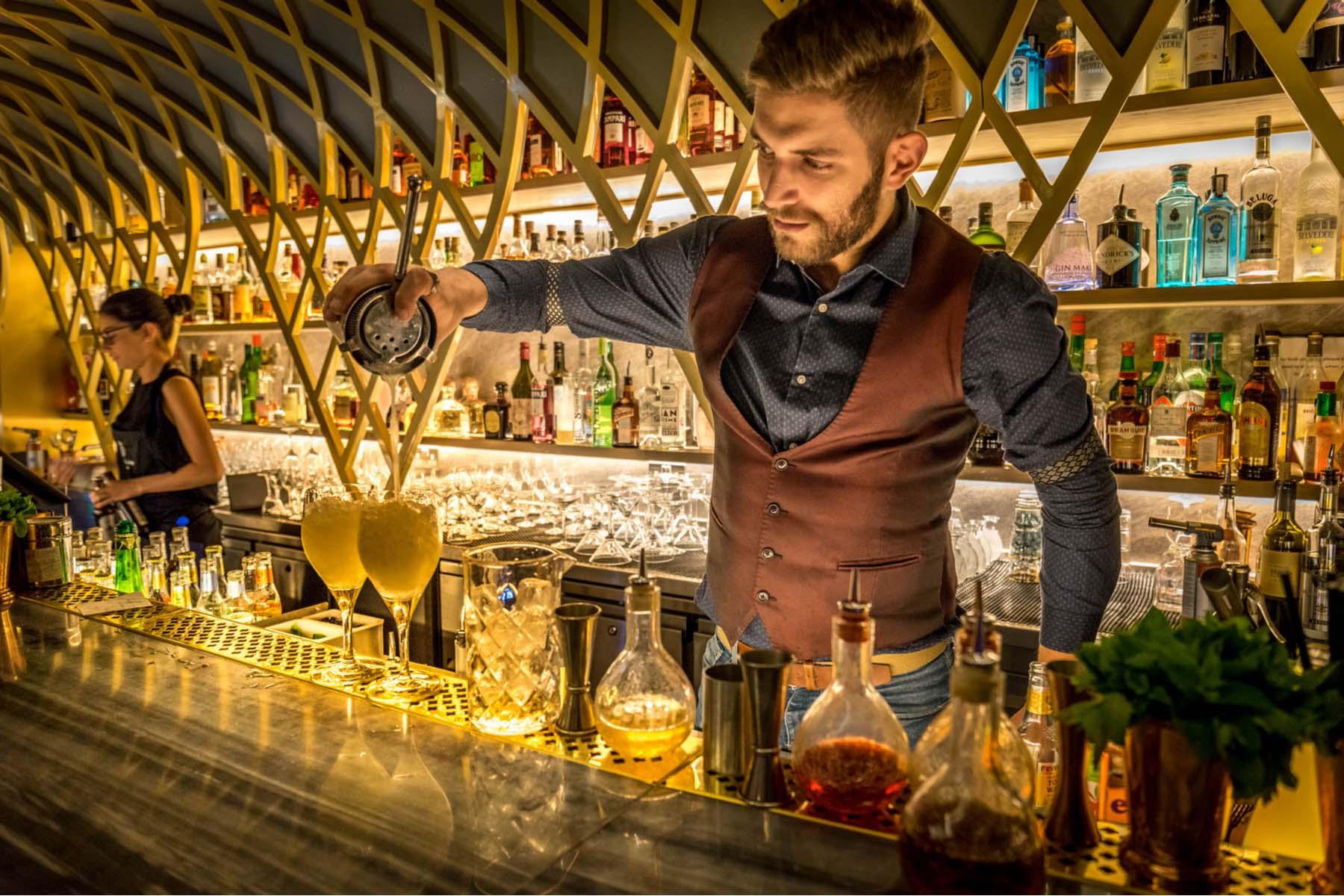 Bartender in the UK