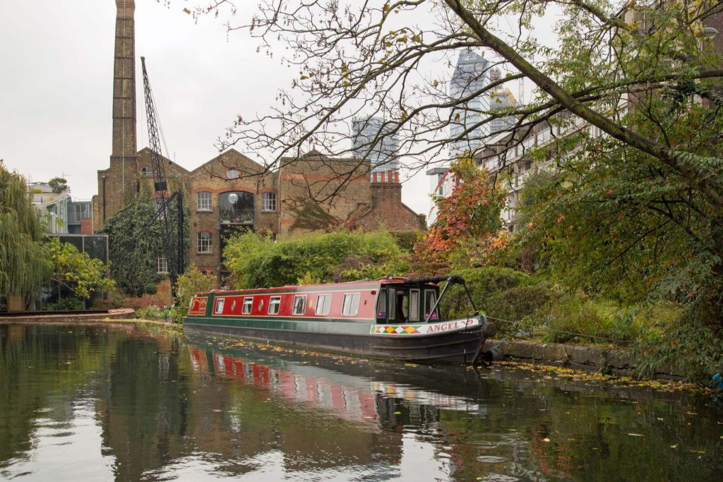 regents canal, islington