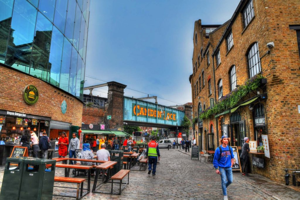 Camden Lock, one of the best places to live in London