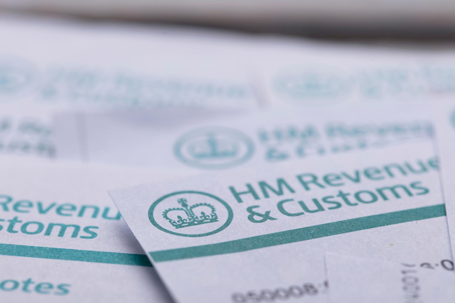 HMRC tax paperwork