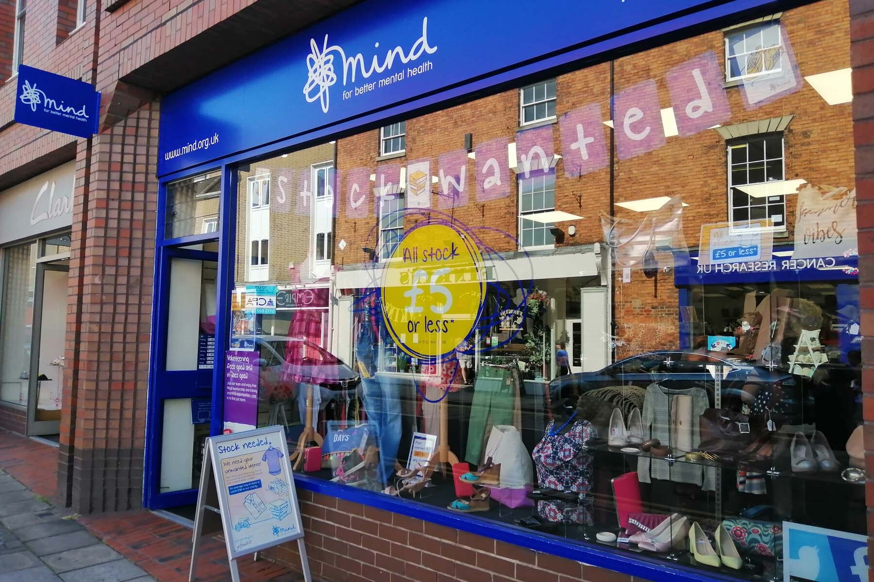 charity shop in UK