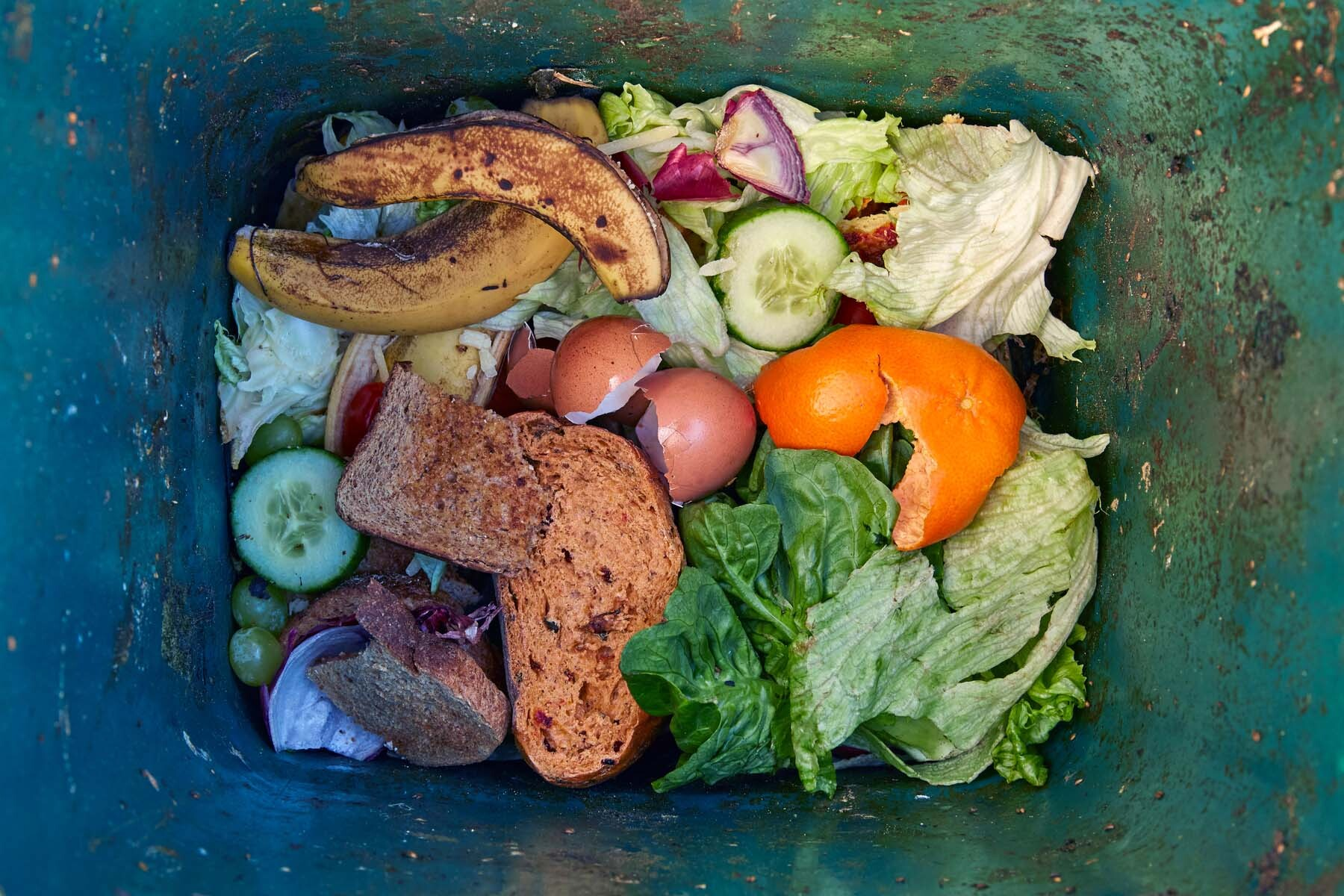 food composting in the UK