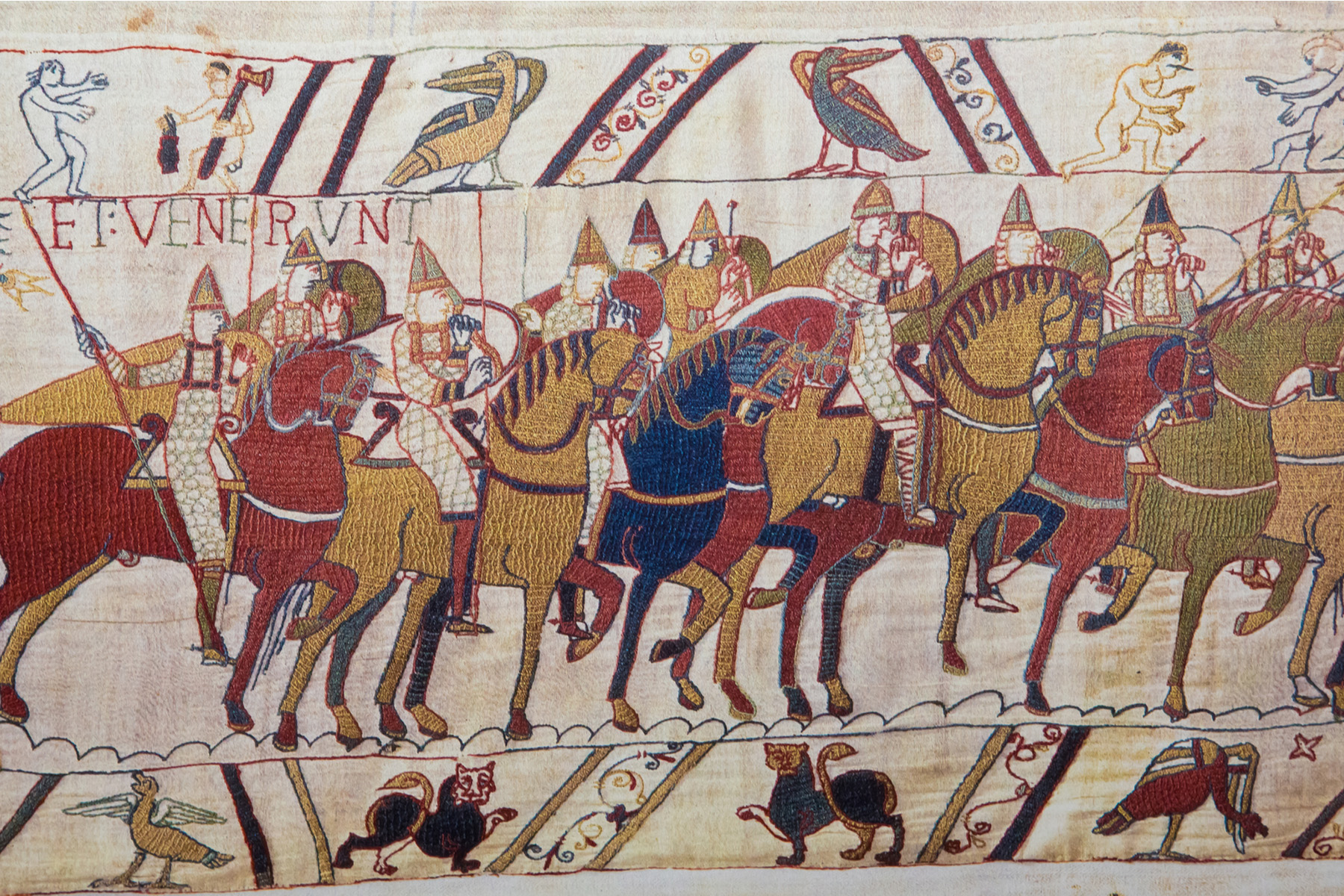 The Norman invasion of England