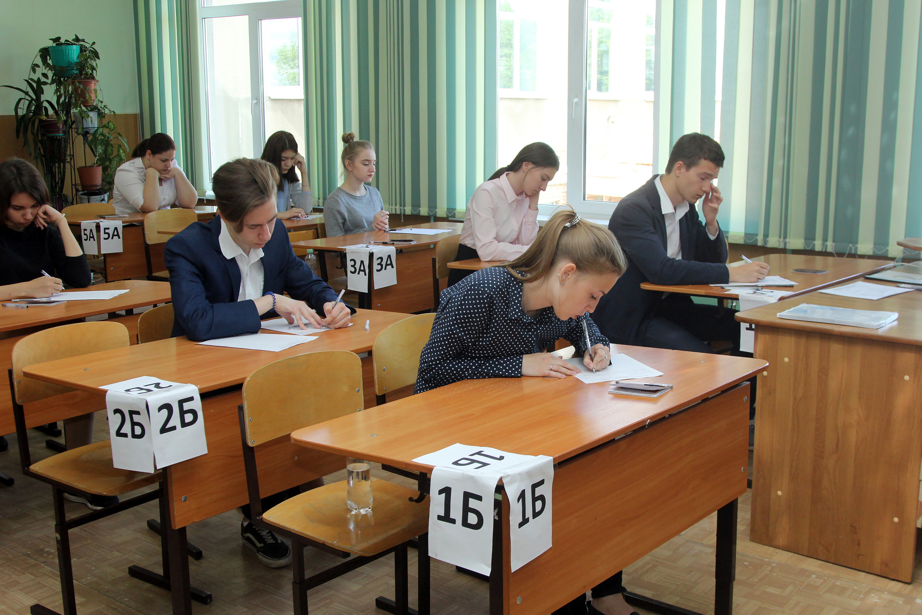 exams in Russia