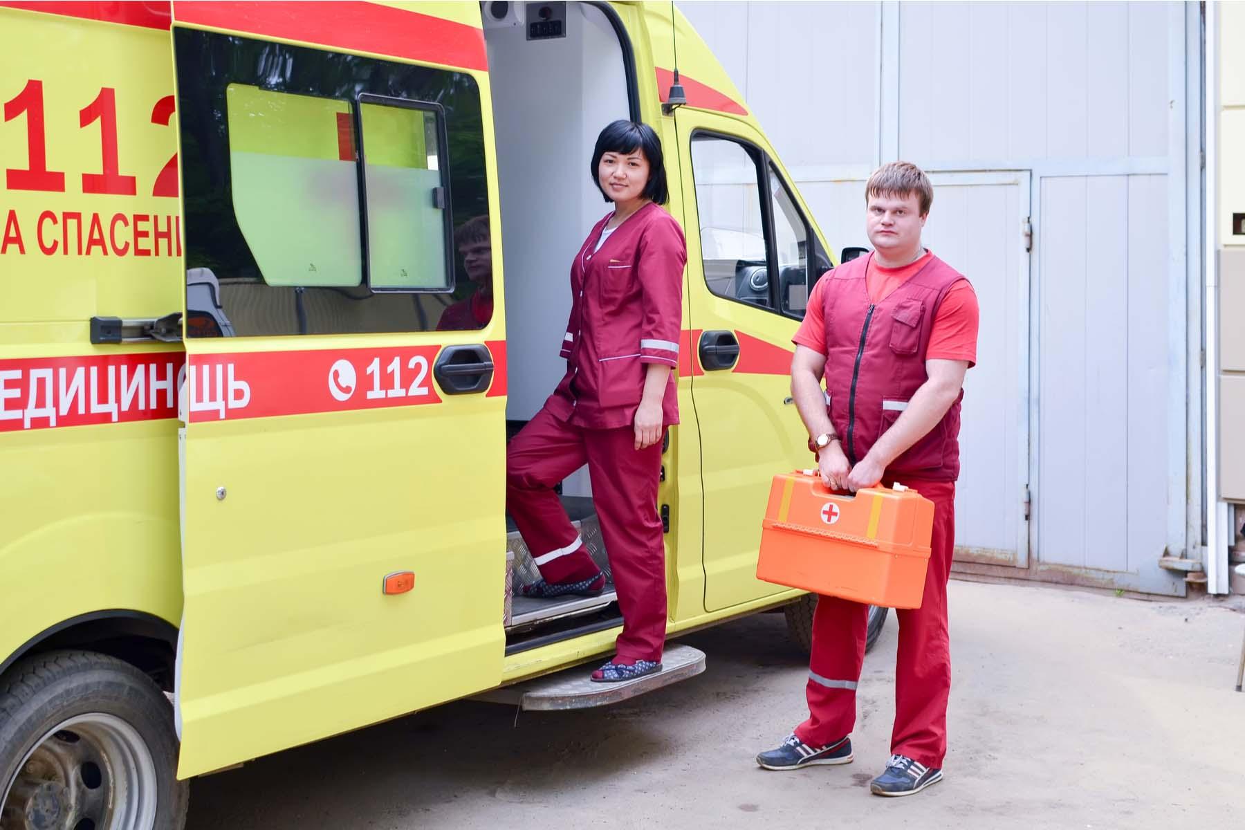 ambulance russia
