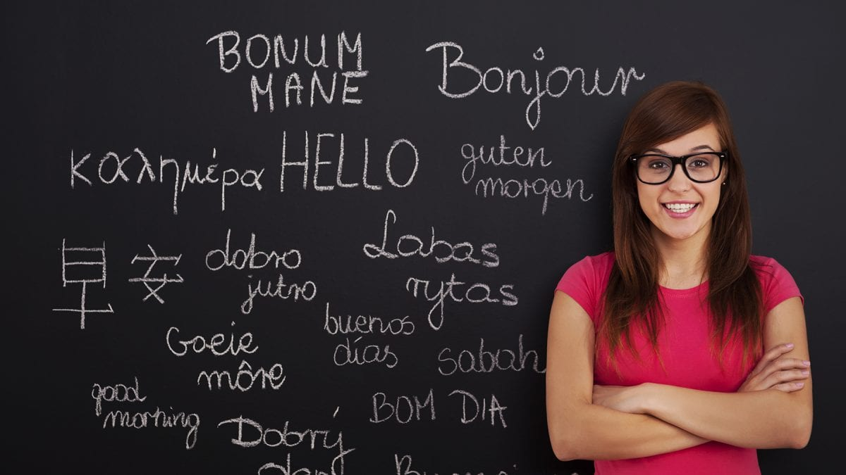 Language learning in Russia