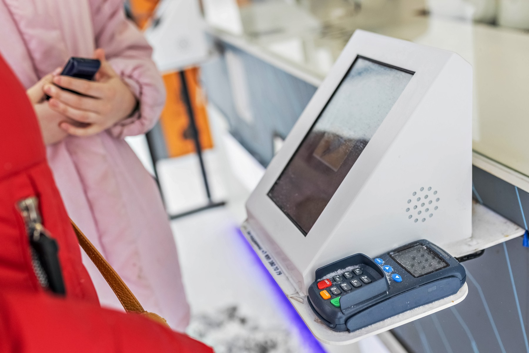 Russian bank account, Russia payment kiosk