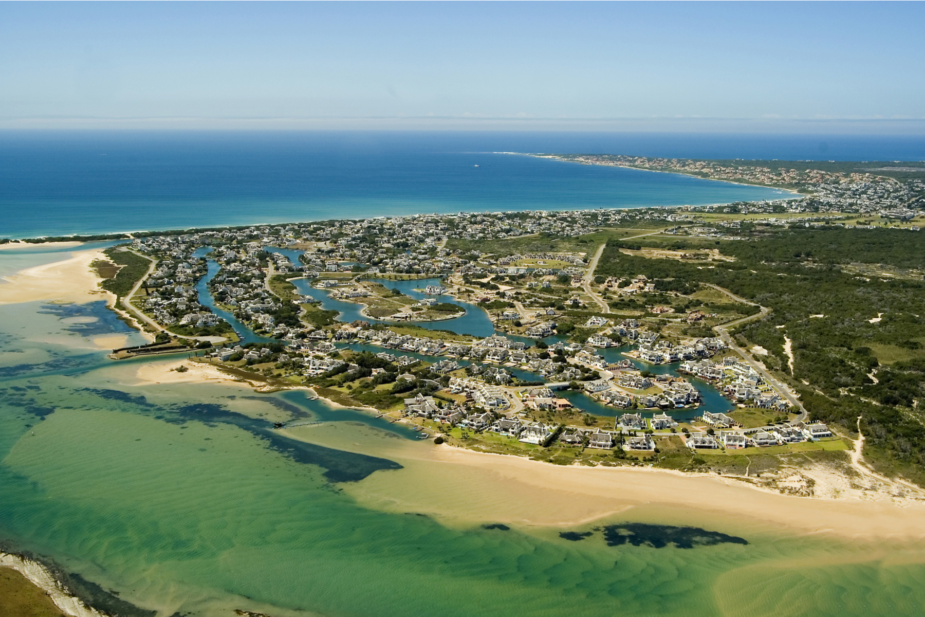 St. Francis Bay in South Africa