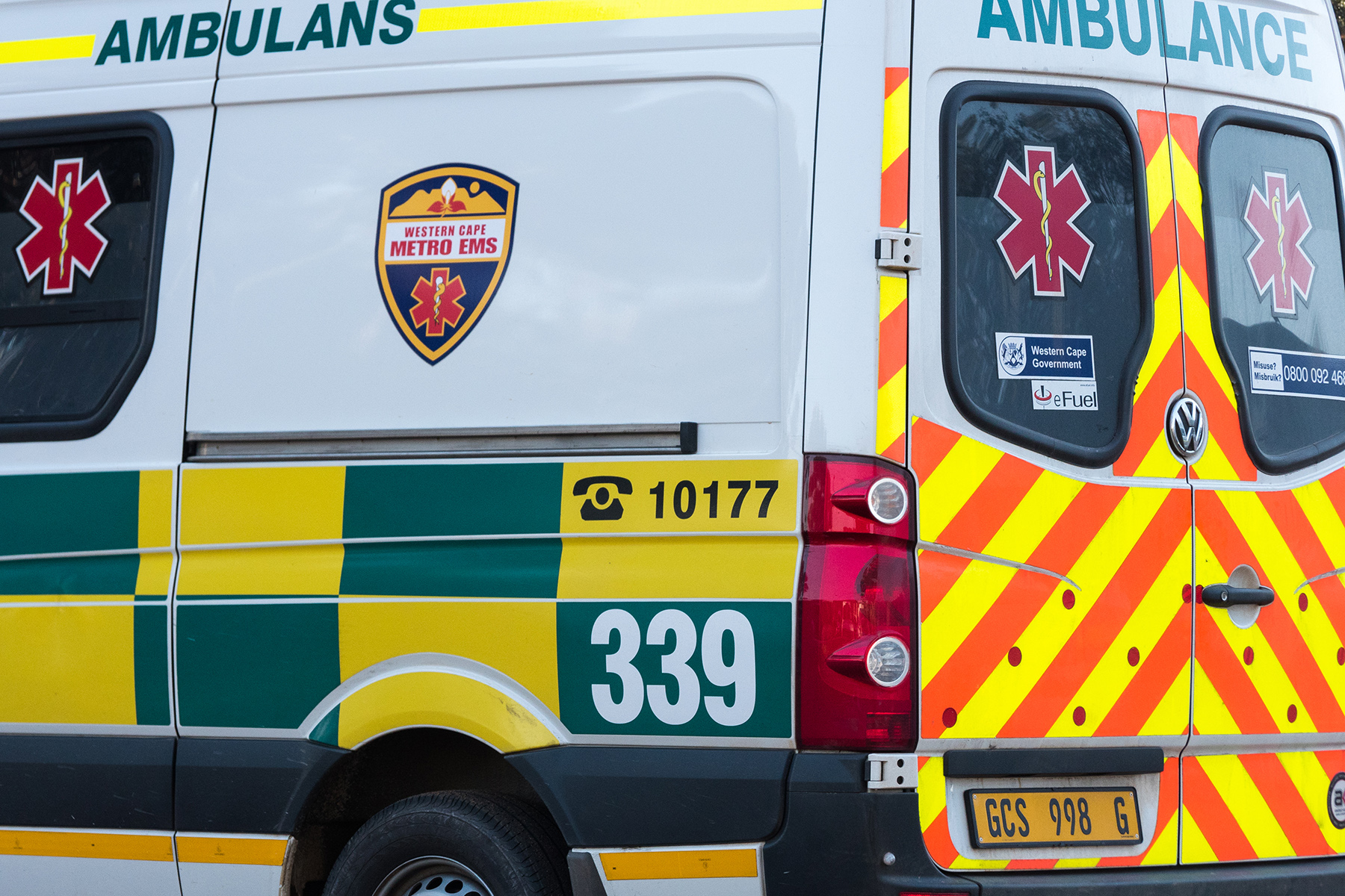 Ambulance in the Western Cape