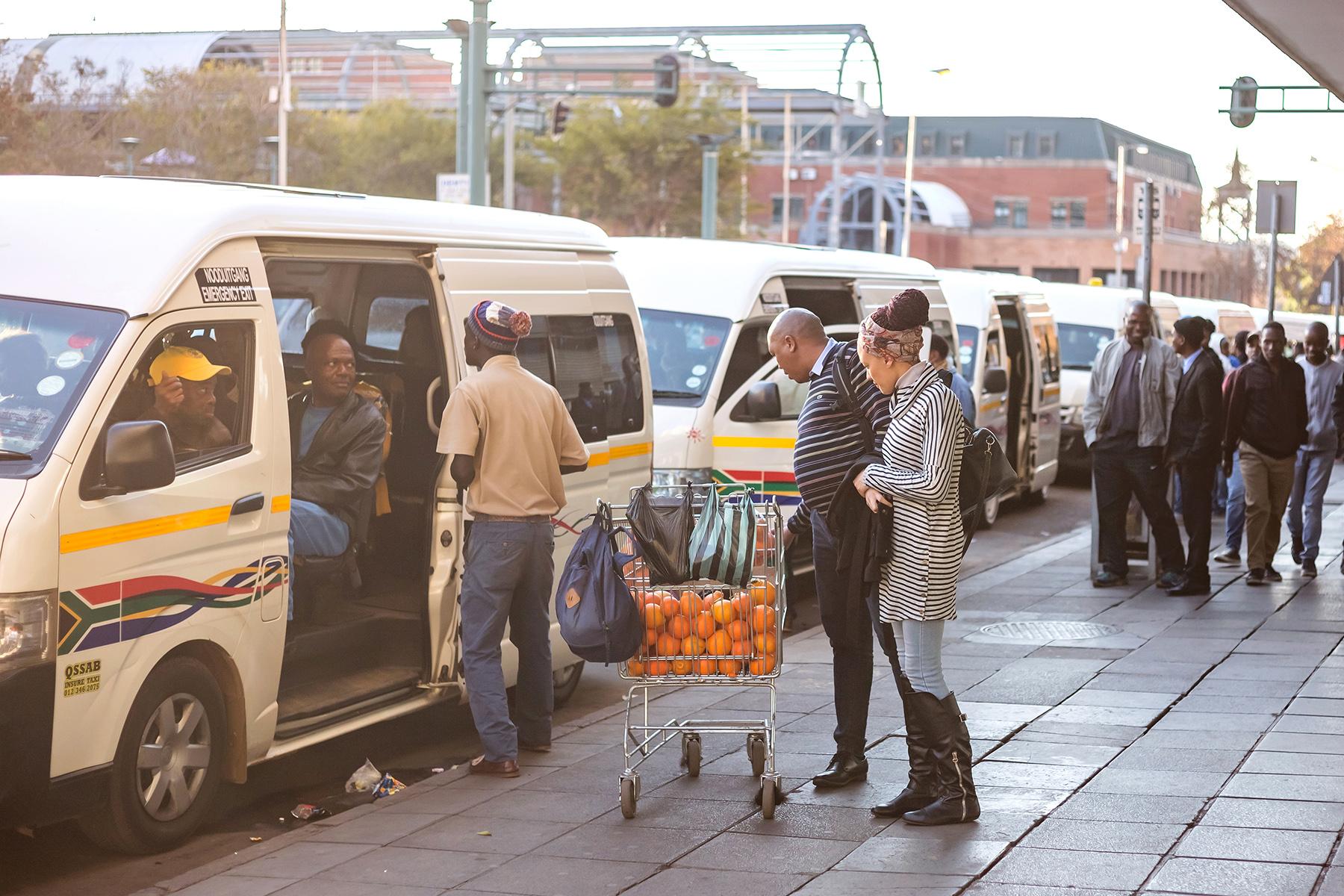 Minibus taxi in Pretoria