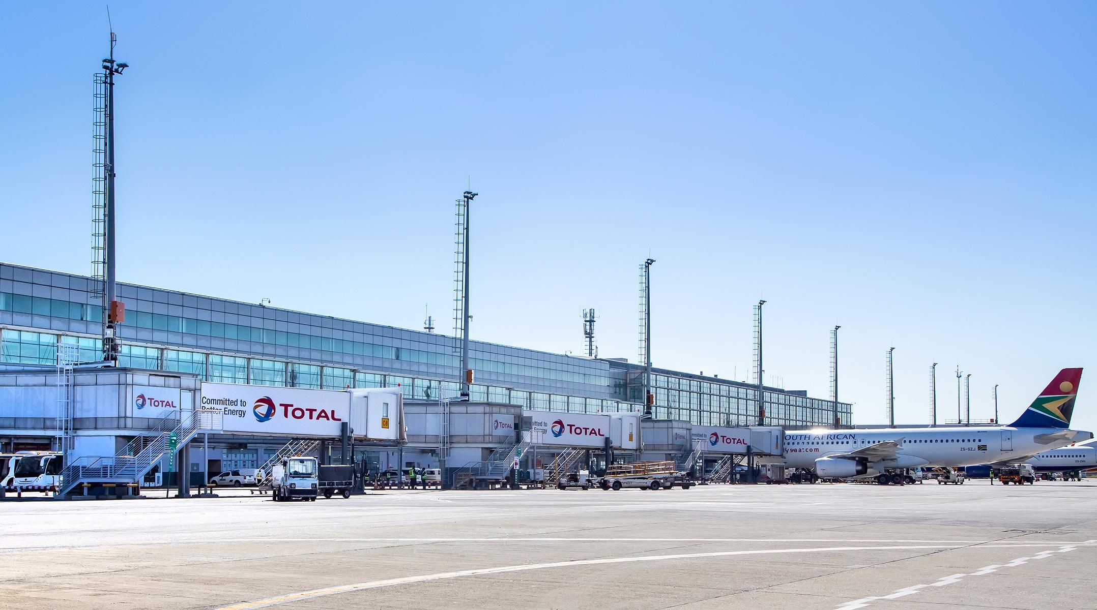 O. R. Tambo International Airport in Johannesburg
