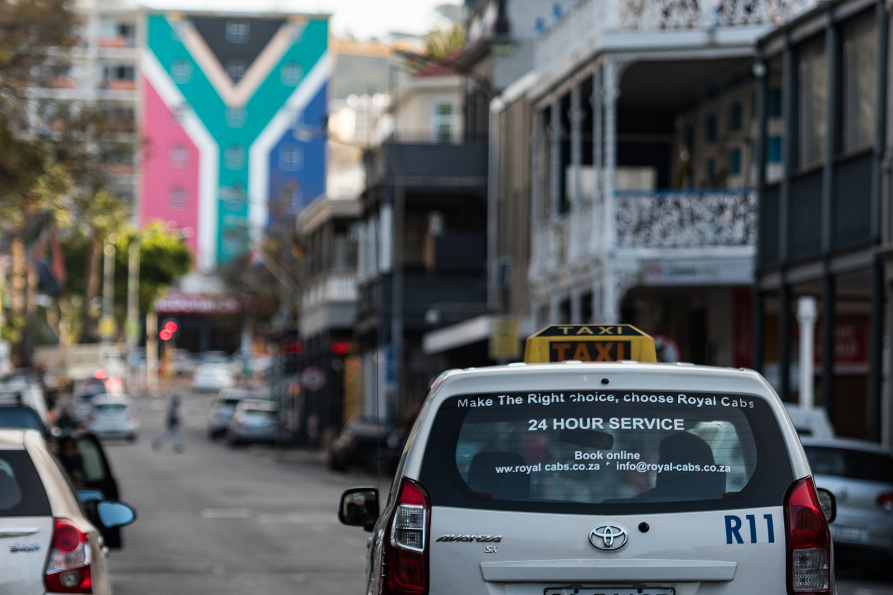 Taxi in Cape Town