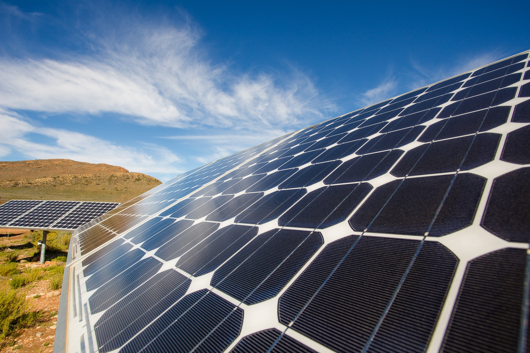 solar panels, ethical banks in south africa