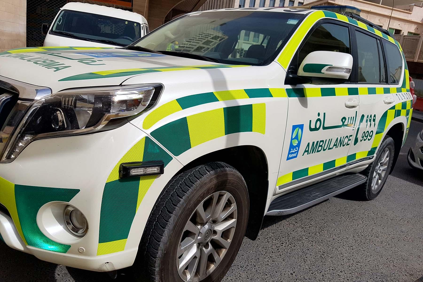 healthcare system in Qatar: ambulance
