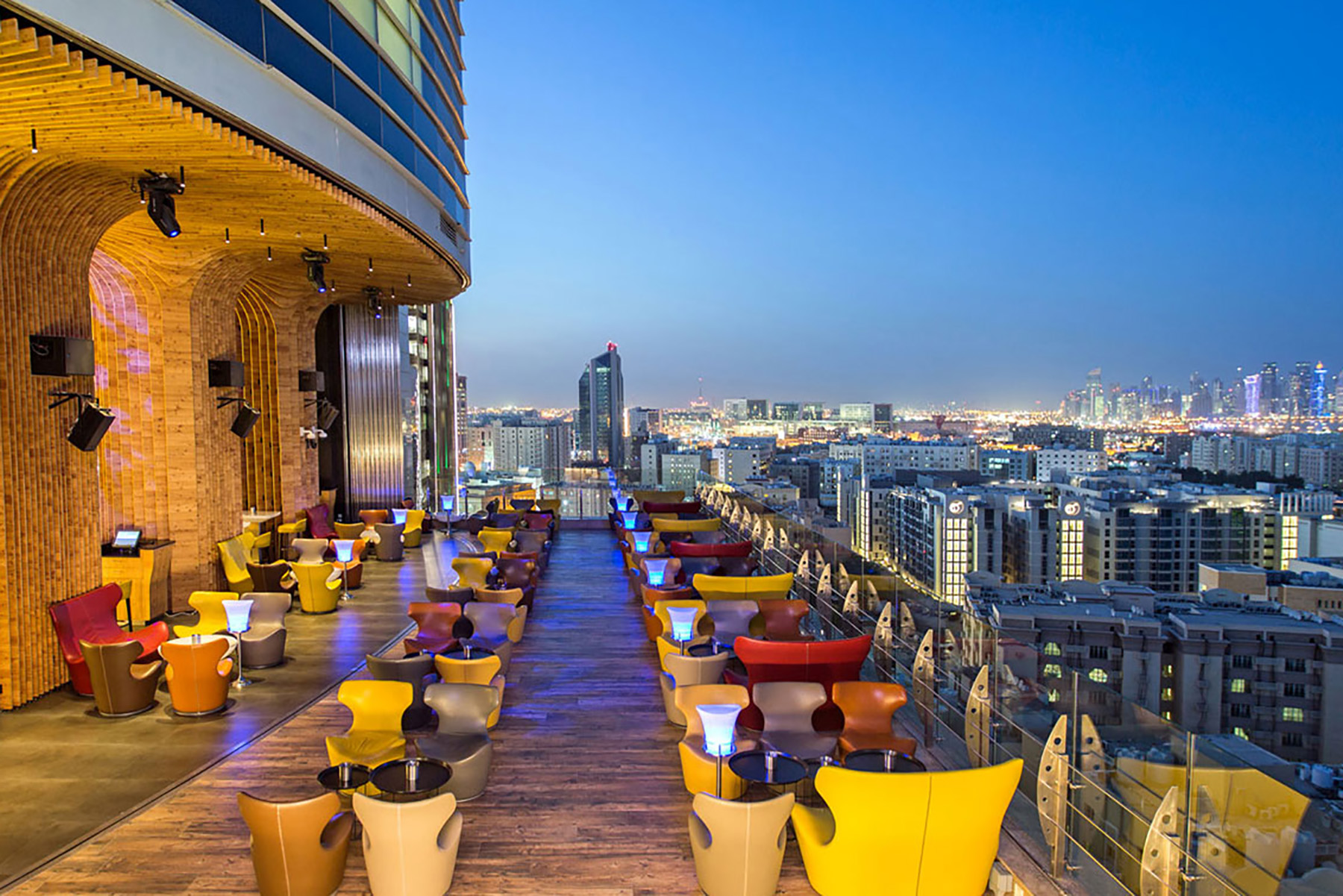 The Rooftop at The St. Regis Doha