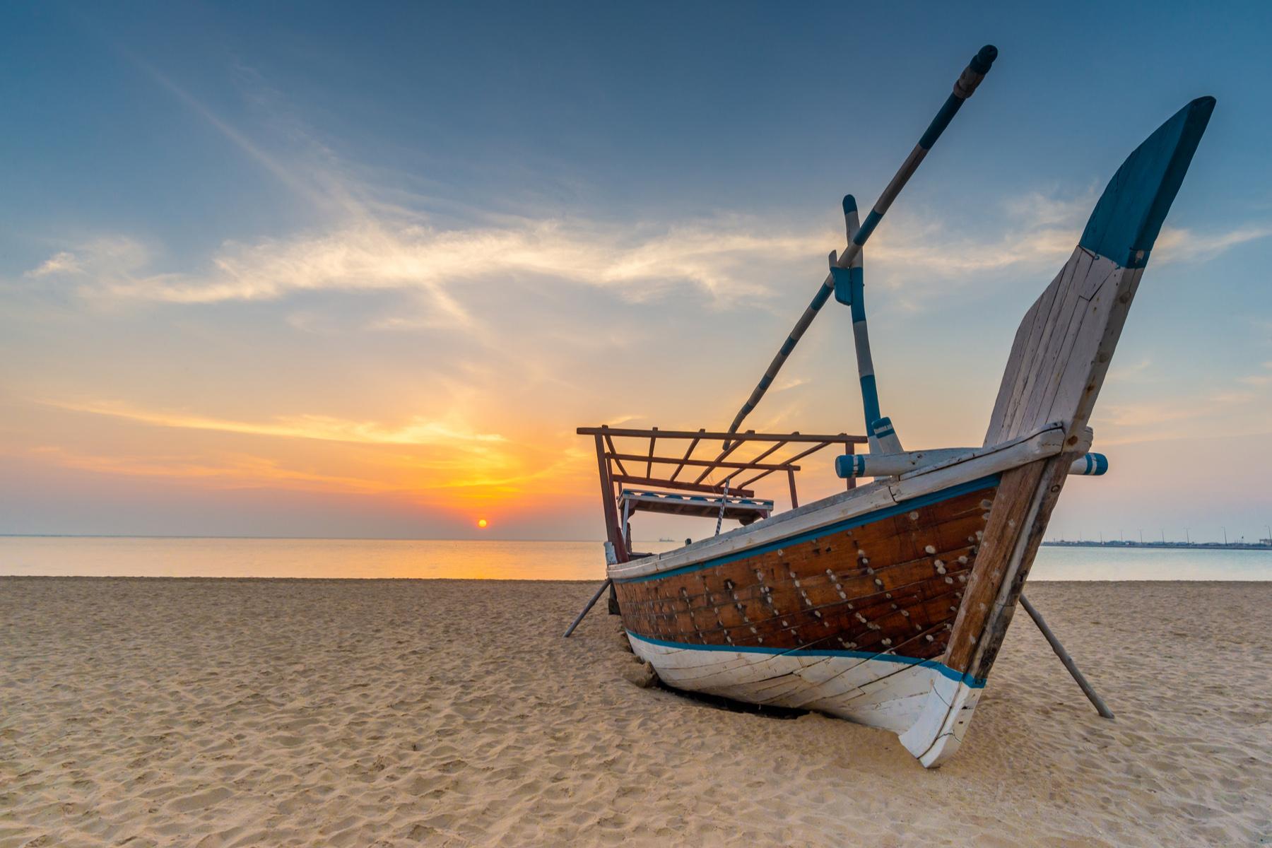 Al Wakrah Beach in Qatar