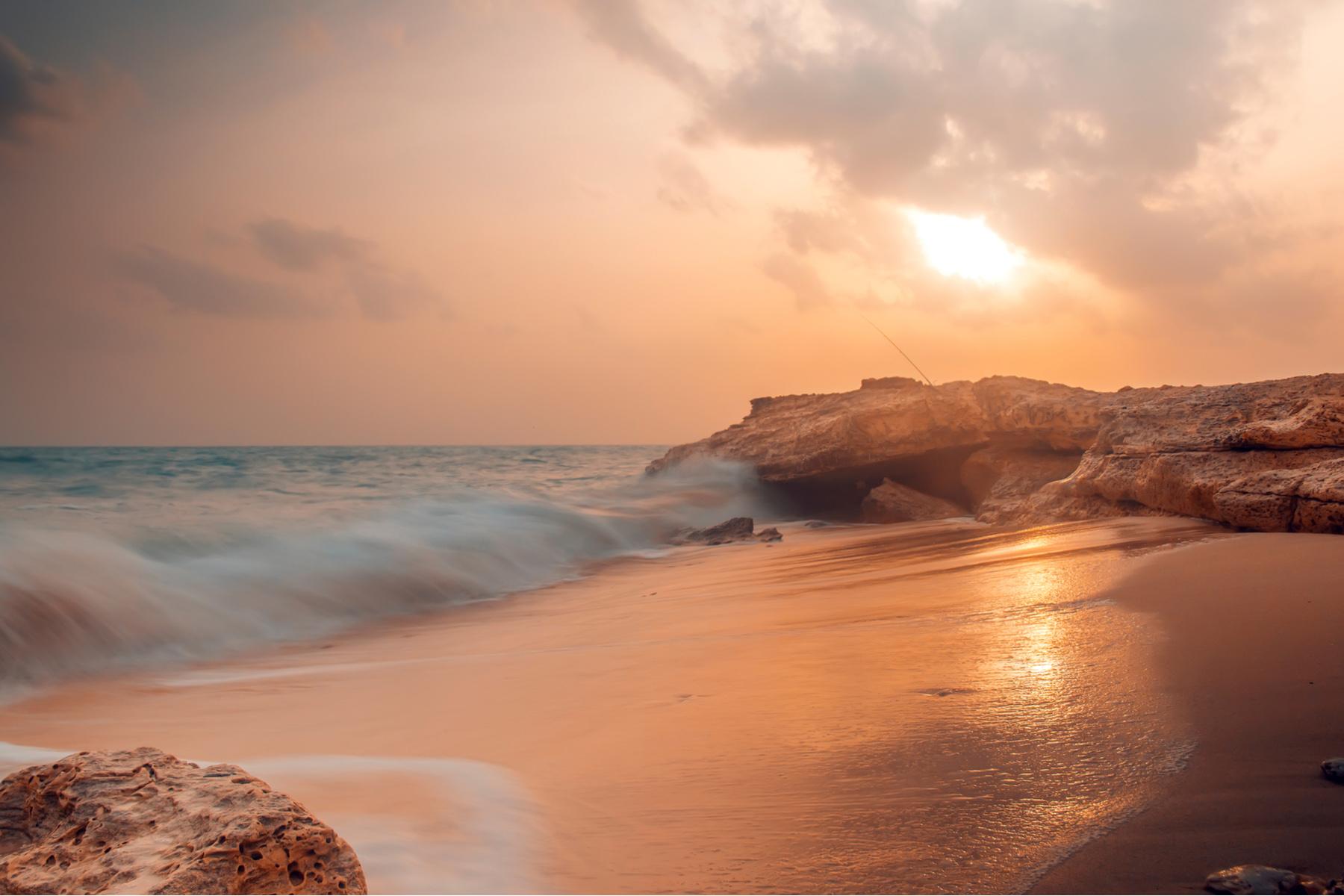 Fuwairit Beach in Qatar