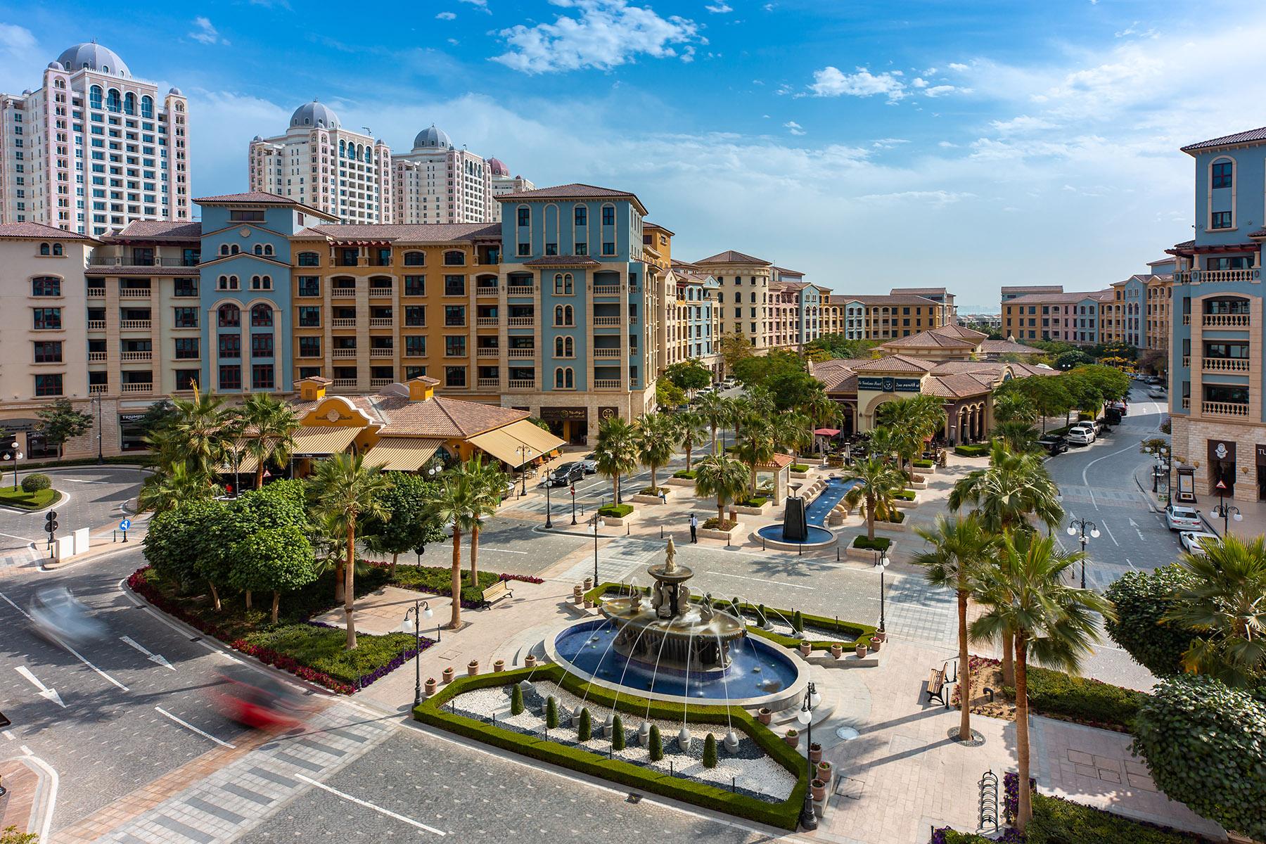 The Pearl, a residential development in Qatar