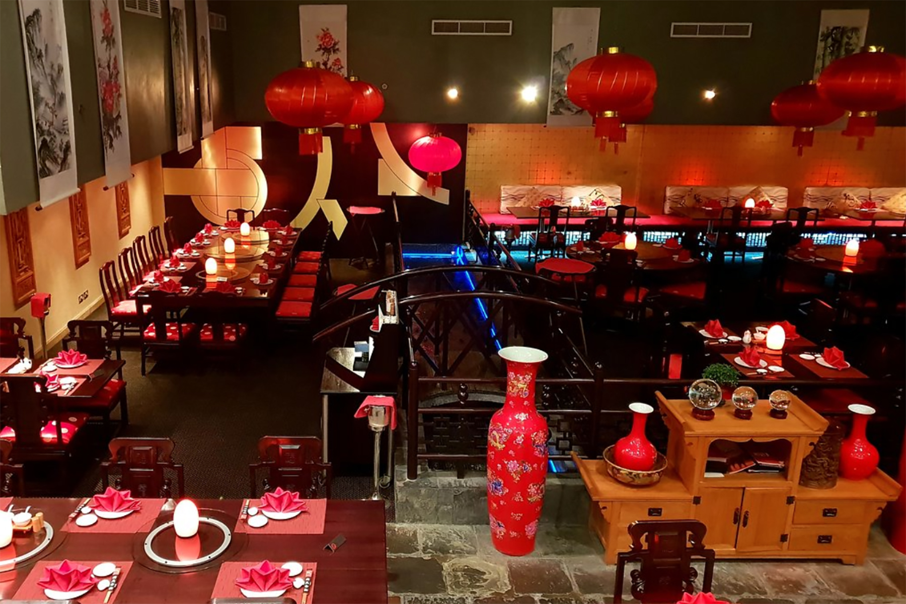 Ruby Wu's restaurant at Radisson Blu Hotel, Doha