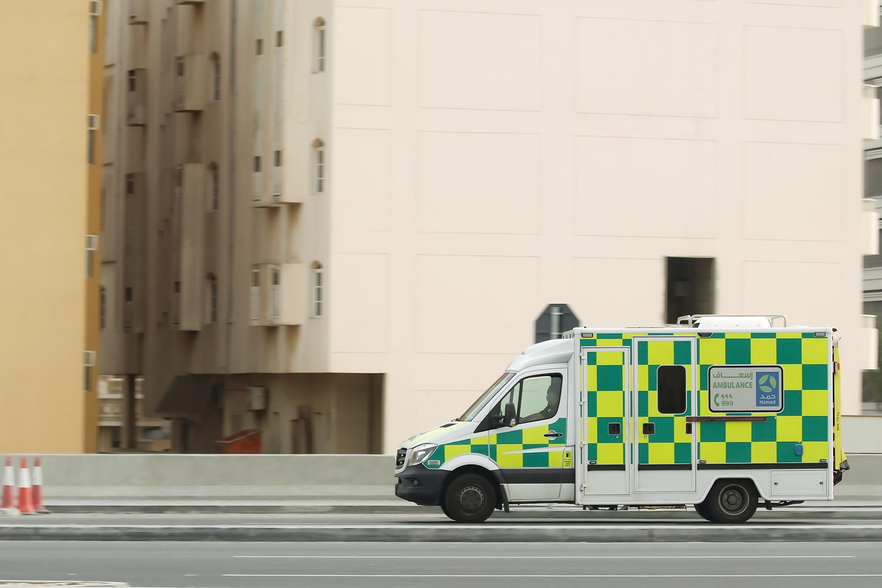 Ambulance in Doha