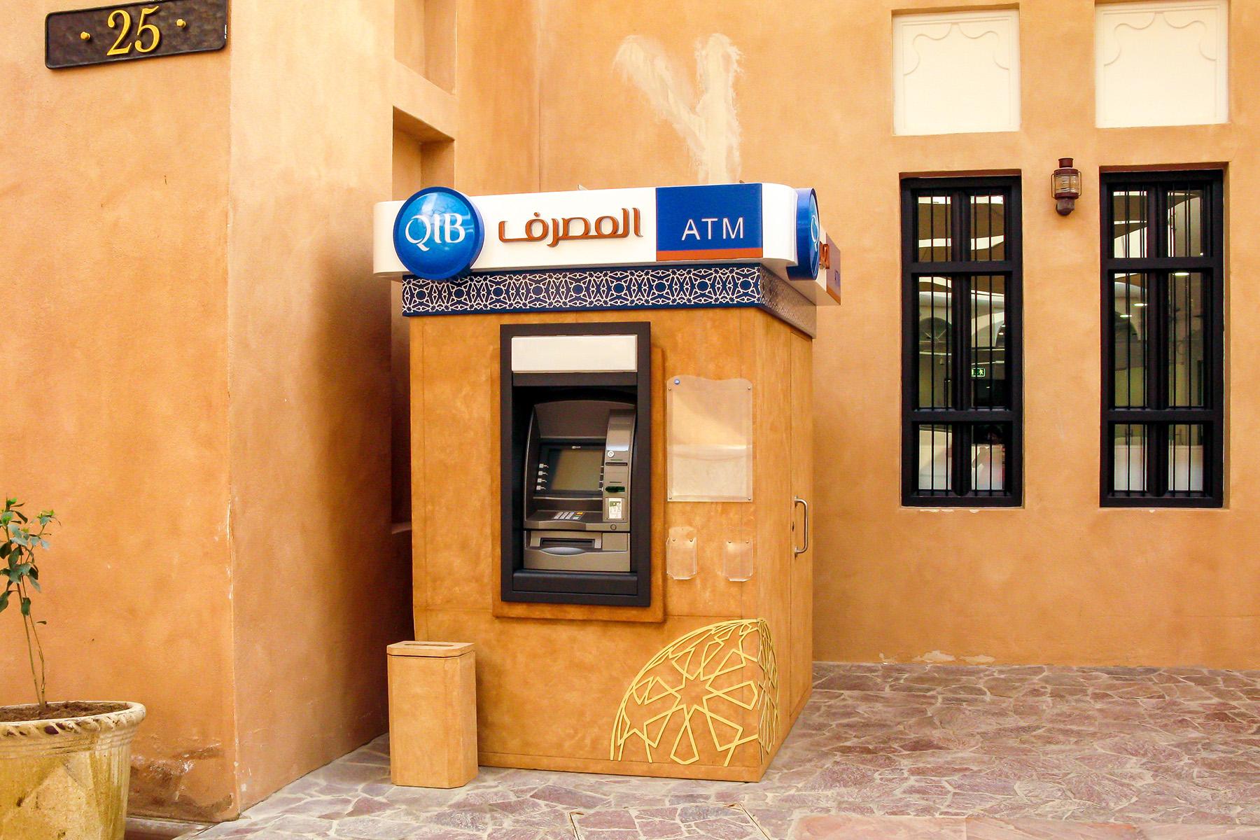 ATM in Doha