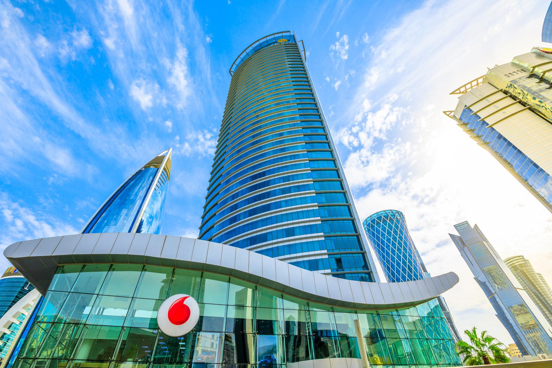 Vodafone office in Qatar