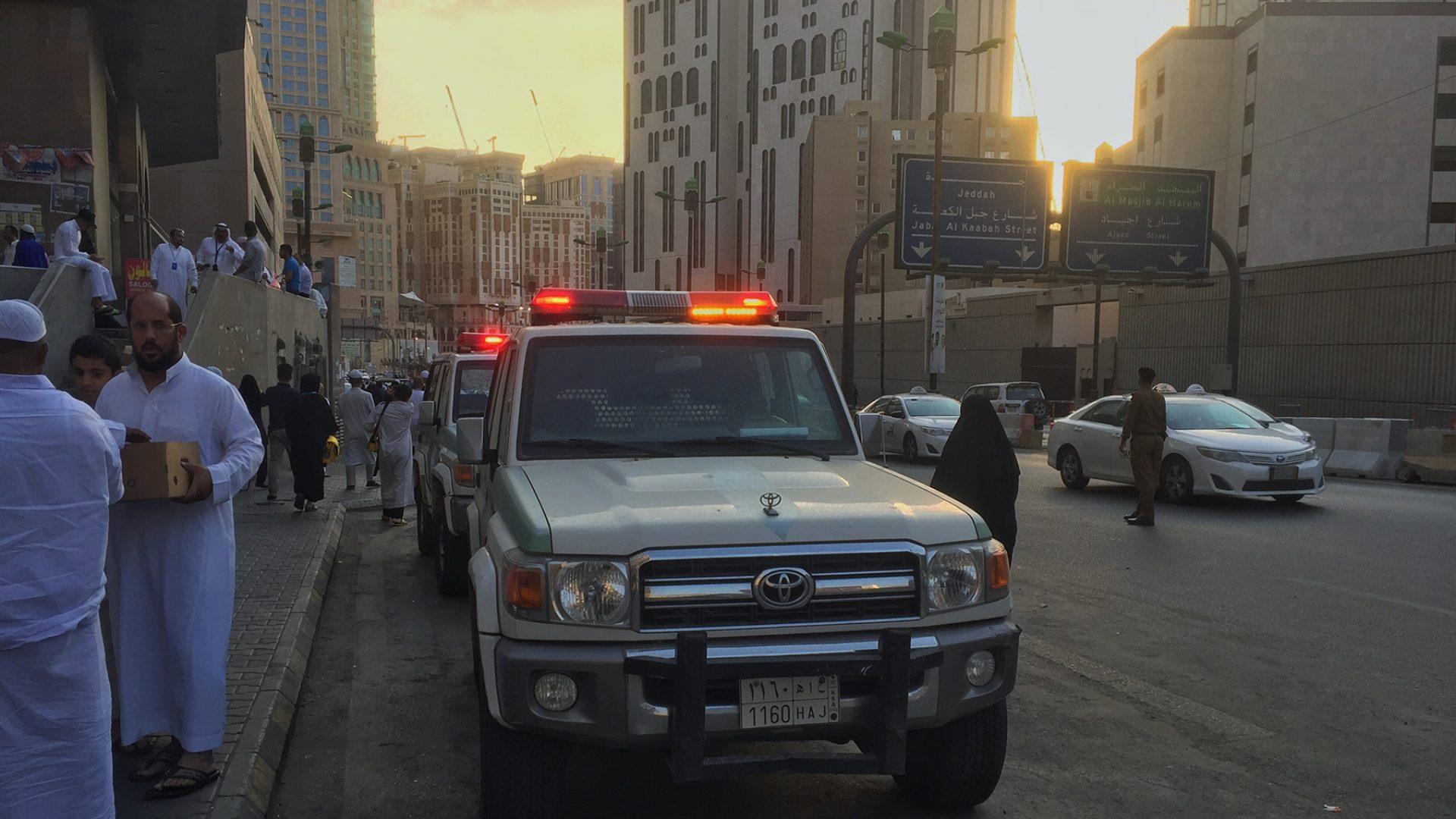 Emergency number in Saudi Arabia