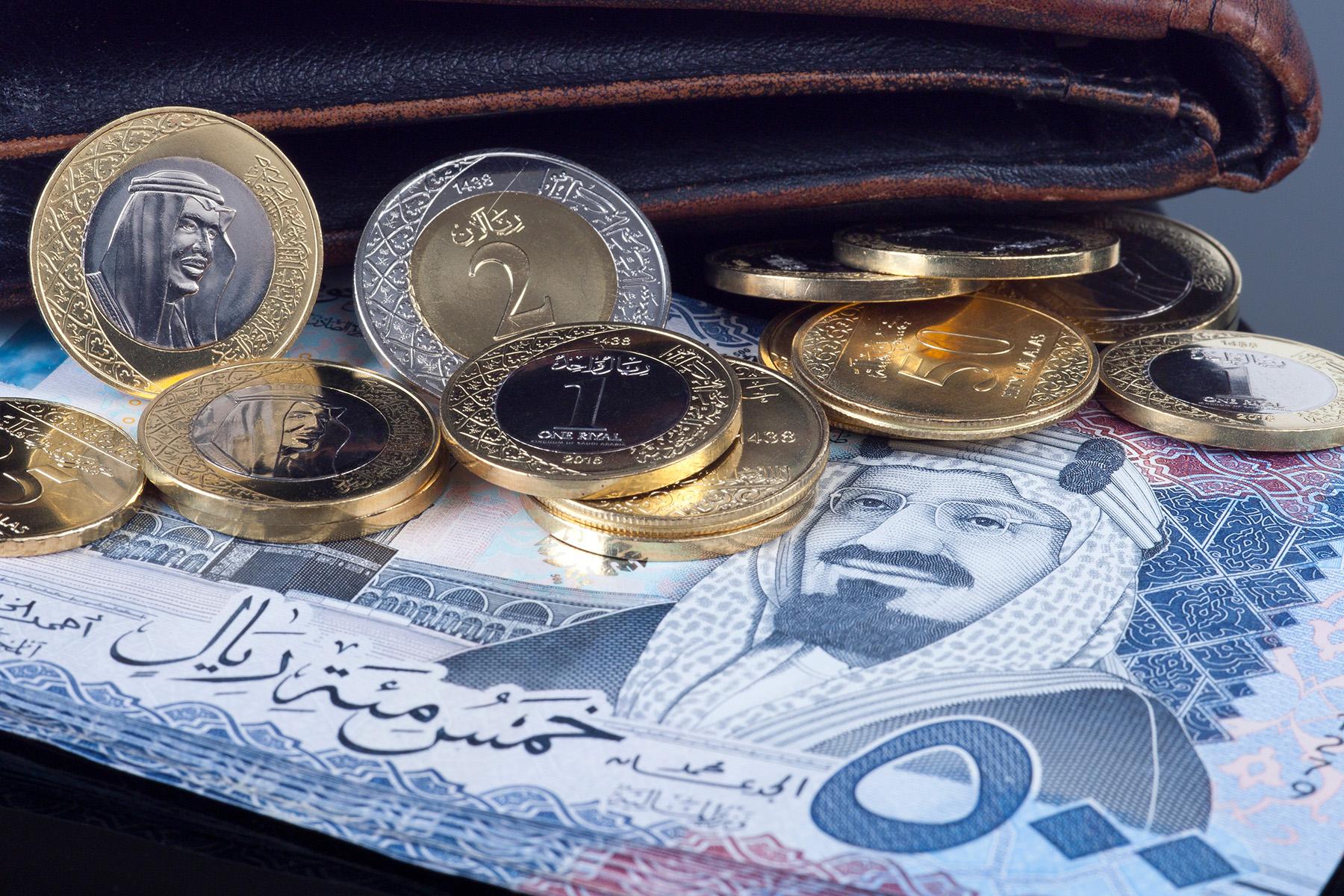 Saudi riyal cash