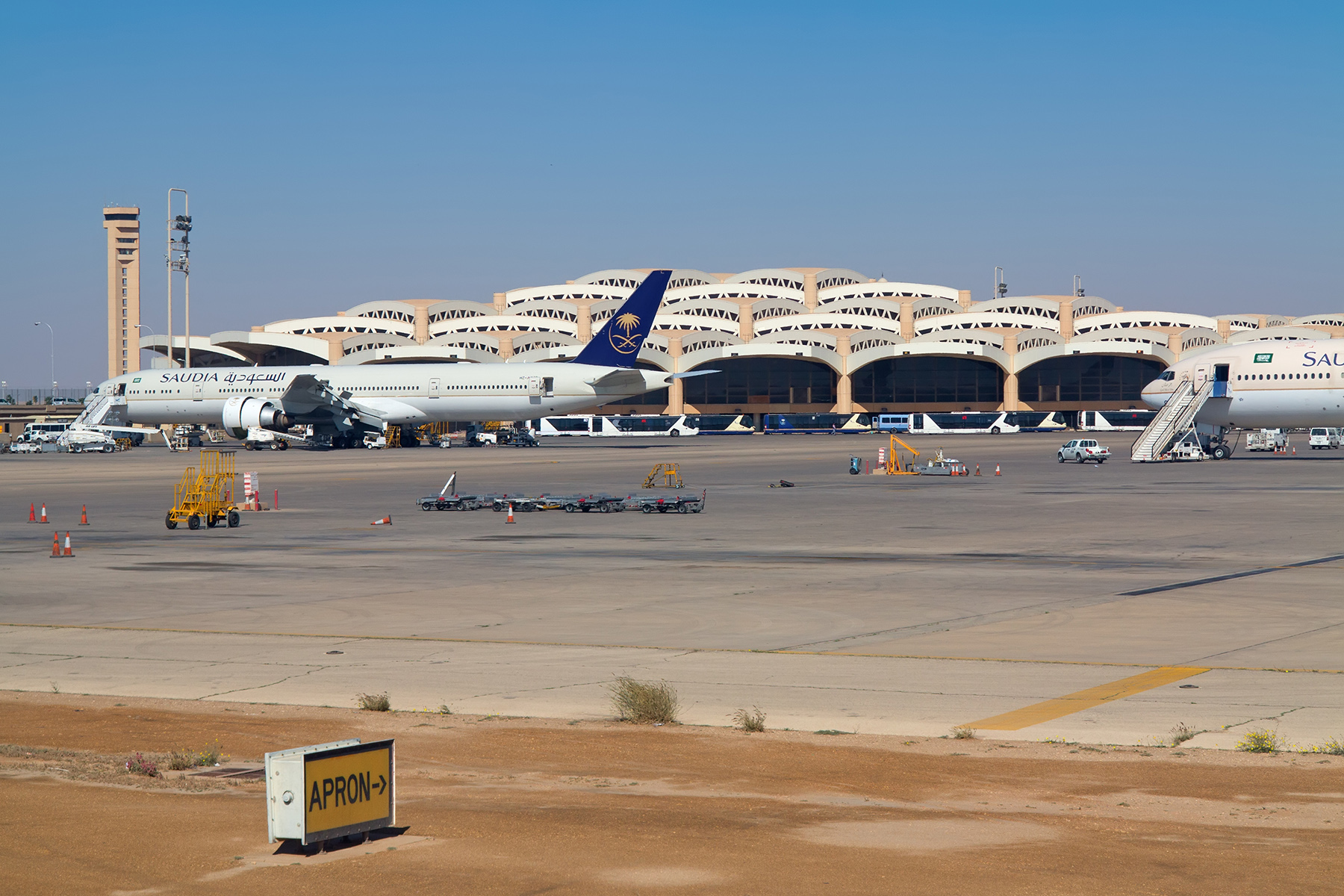 King Khalid International Airport in Riyadh