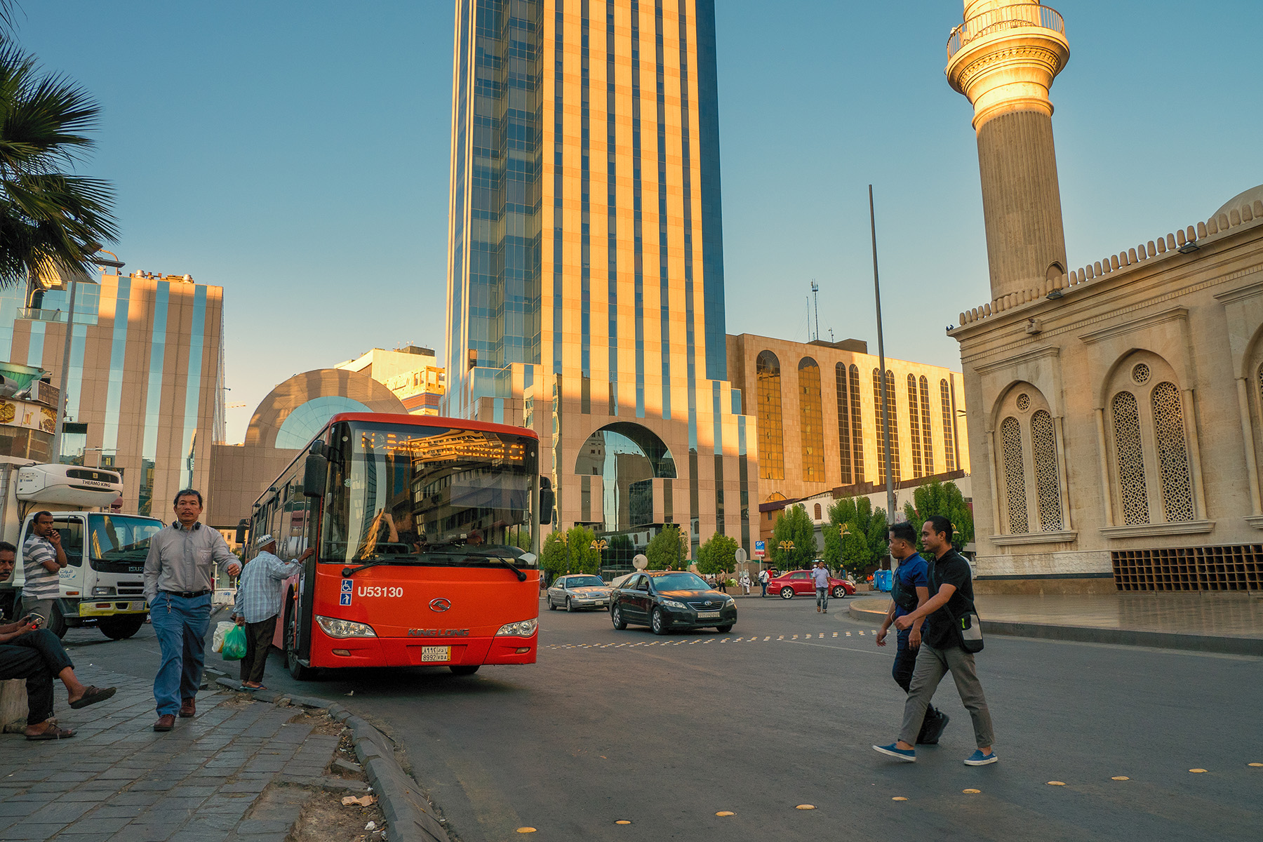 Public bus in Jeddah
