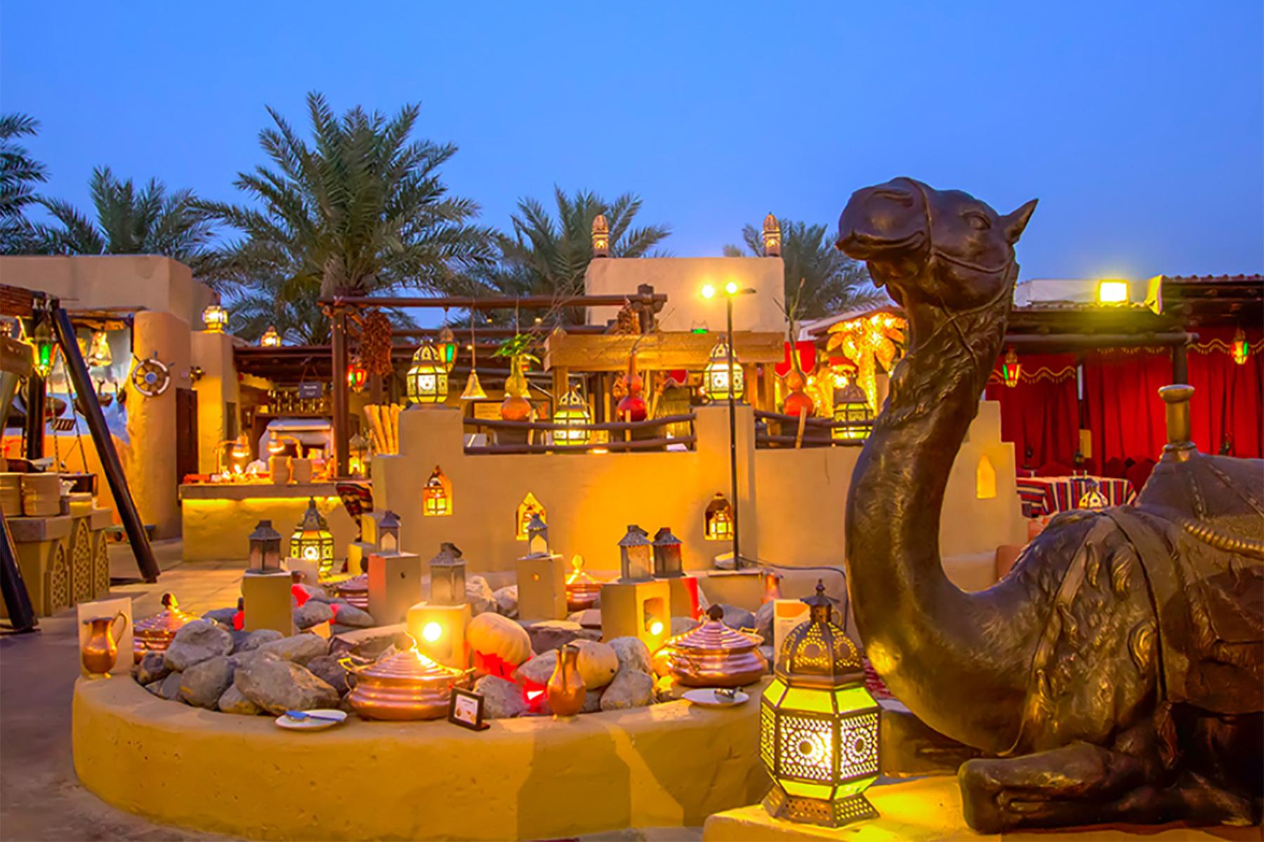 Al Hadheerah Restaurant in Dubai