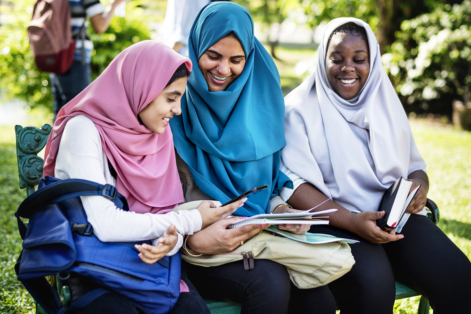 Female students in the UAE