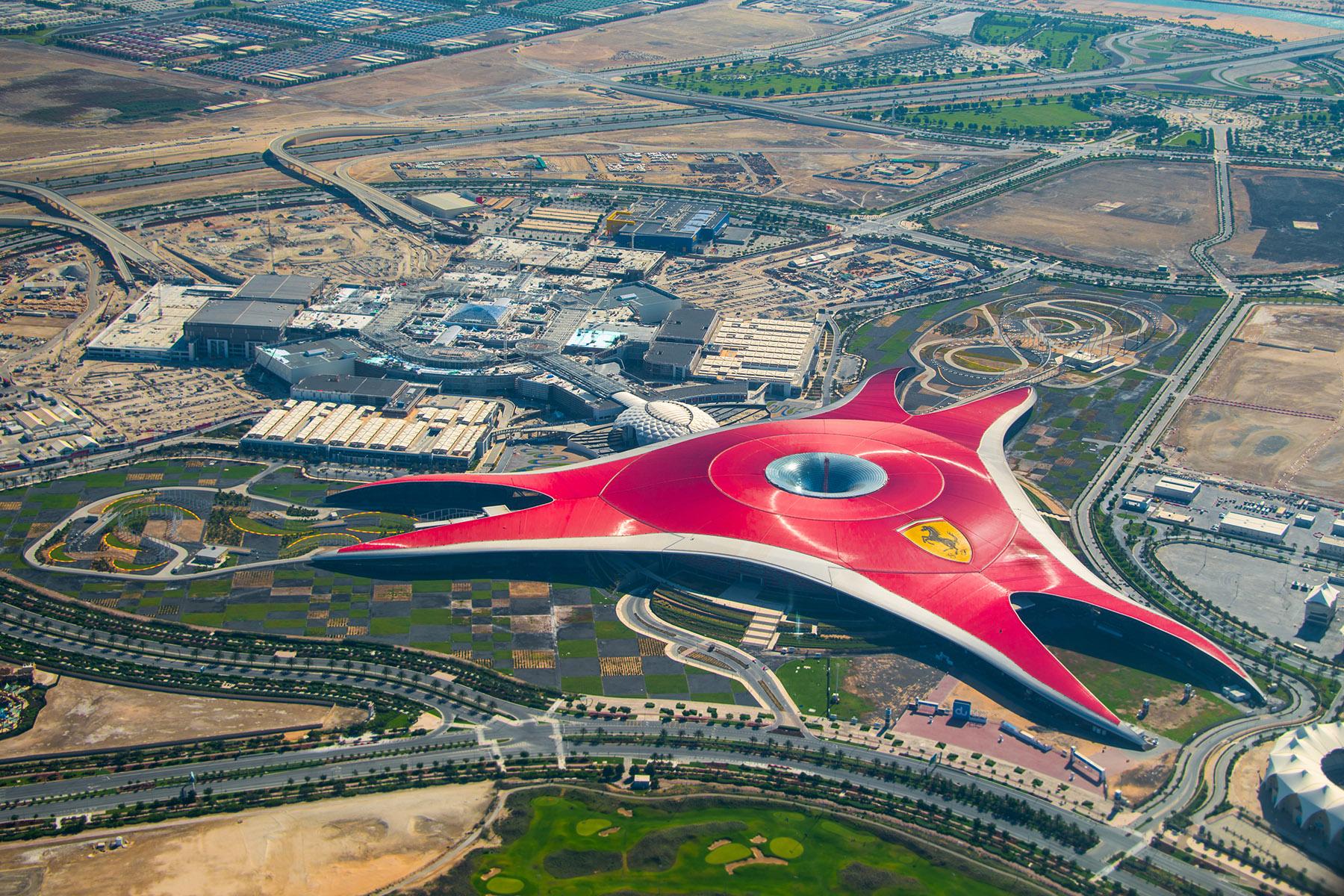 UAE with kids: Ferrari World