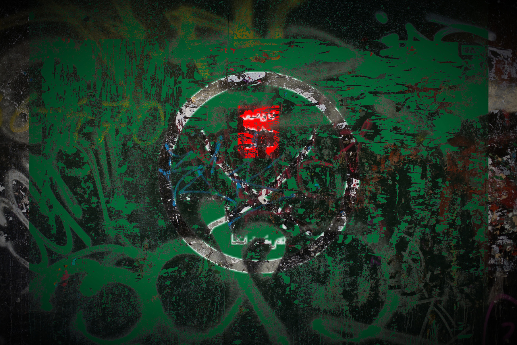 Muslim Brotherhood graffiti