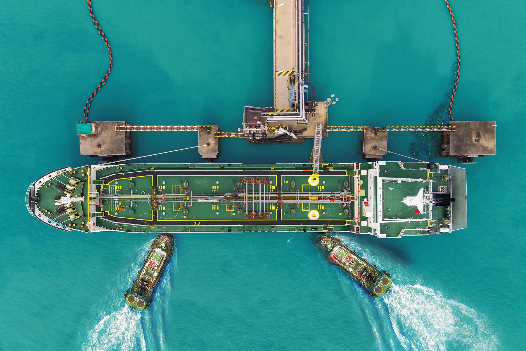 Oil tanker in the UAE
