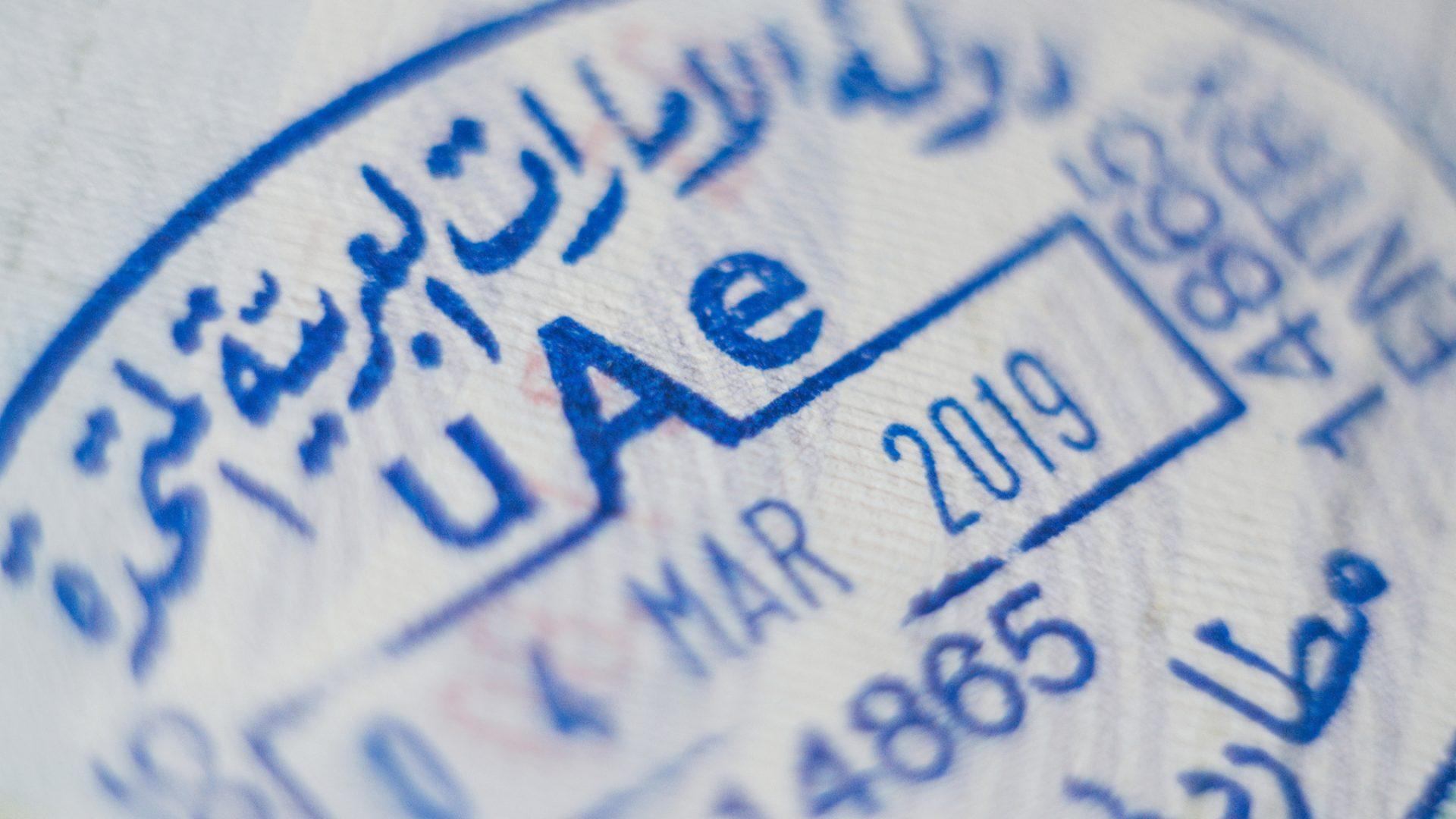 UAE work visa