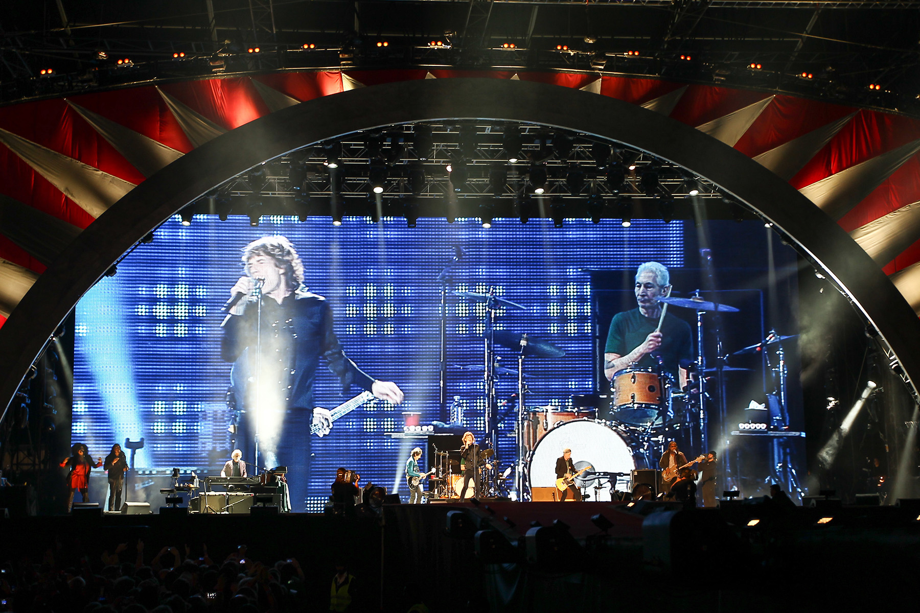 The Rolling Stones at du Arena