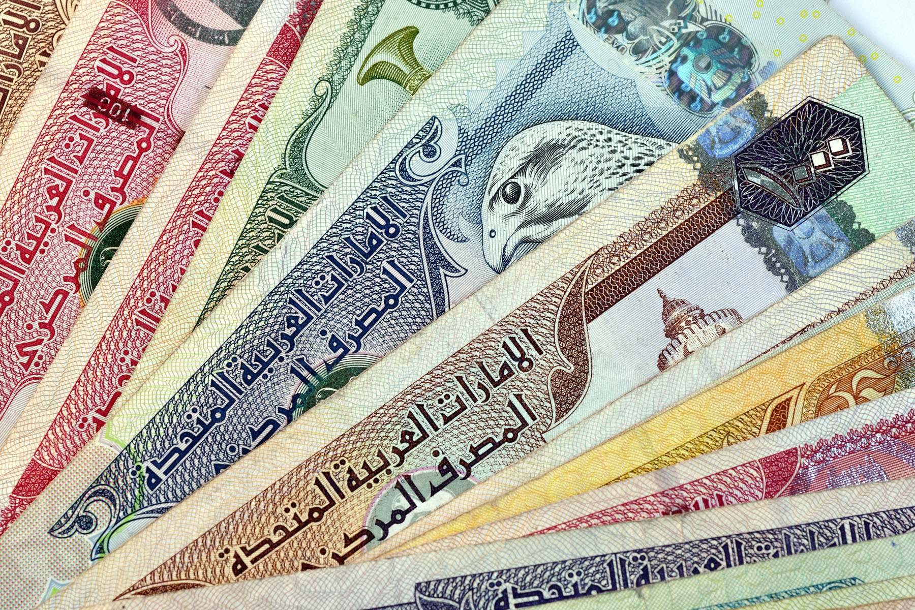 Dirham, the currency of the UAE